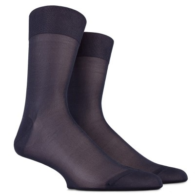 MEN SOCK - PURE SILK - LUXURY COLLECTION