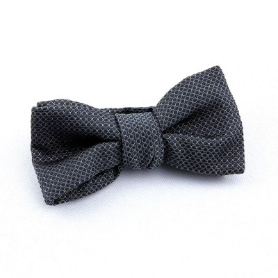 BOW TIE NAVY AND GREEN ALMOND CIRCLES