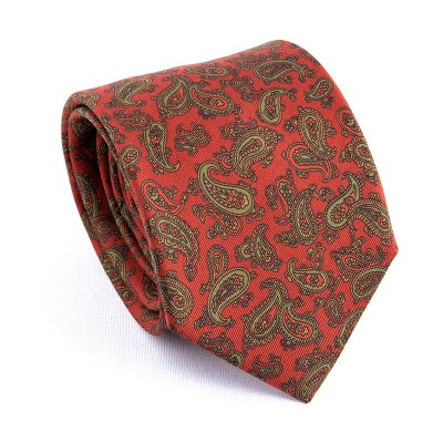MADDER TIE RED CASHMERE ALMOND
