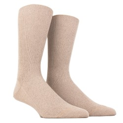 NON ELASTICATED TOP SOCKS, REINFORCED COTTON