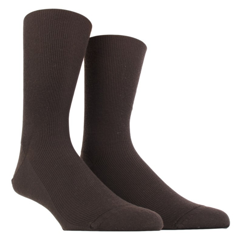 SOCKS WITHOUT ELASTIC, REINFORCED REINFORCED WOOL